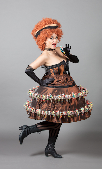 Robe bonbon cabaret
