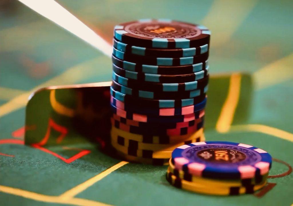 Râteau Jetons Casino