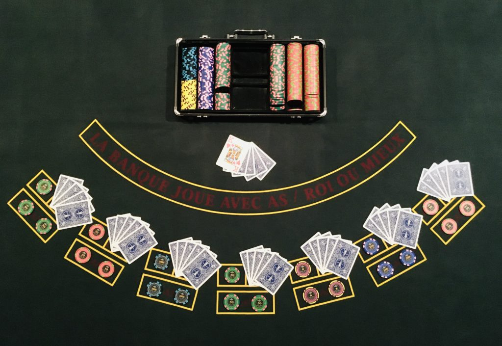Donne Table Caribbean Stud Poker
