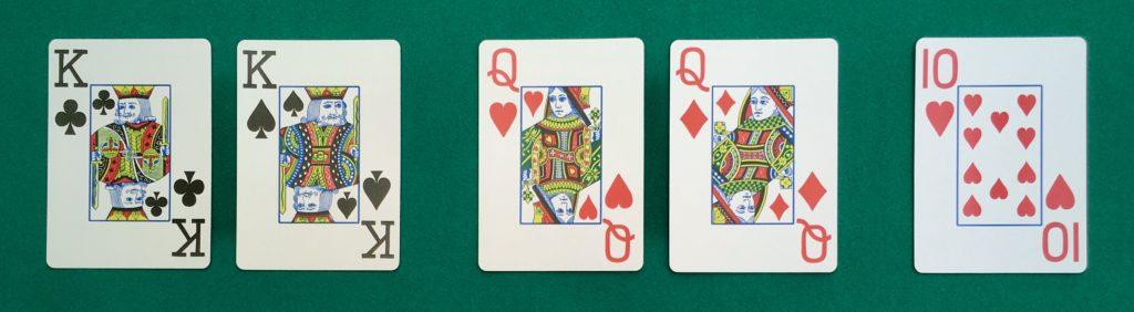 Main Poker Deux Paires
