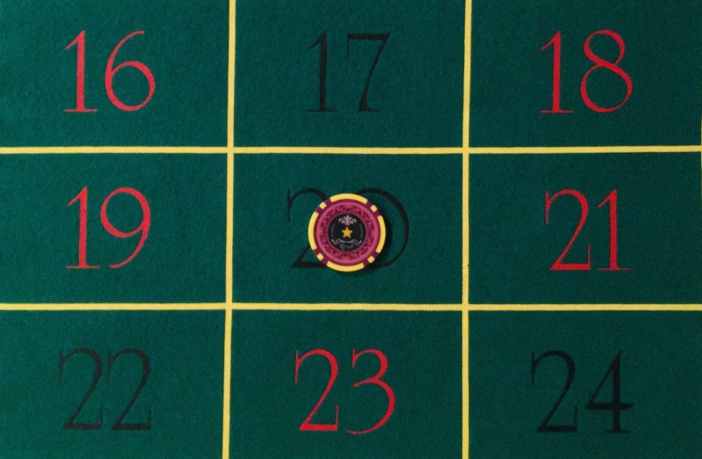 Mise Numéro Plein Roulette